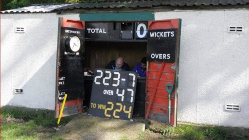 Help us Raise money for an Electronic Scoreboard