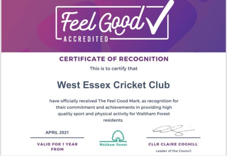 LBWF Feel Good accreditation