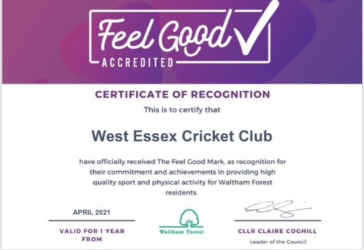 LBWF Feel Good accreditation